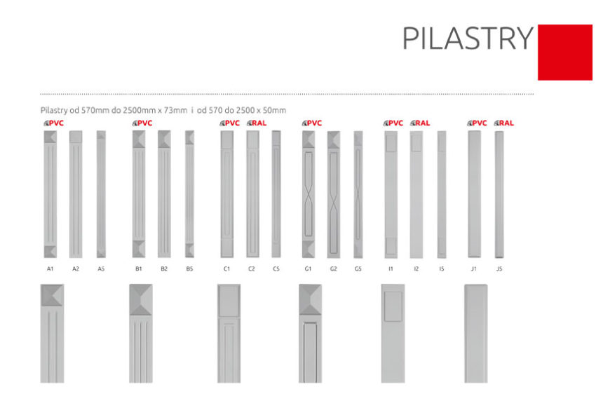 Pilastry